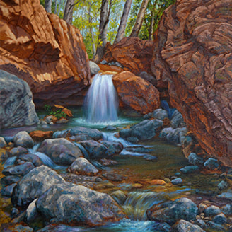 Oil Paintings Of The California And Southwest Landscape By Artist Johanna Girard Girard Art Studio